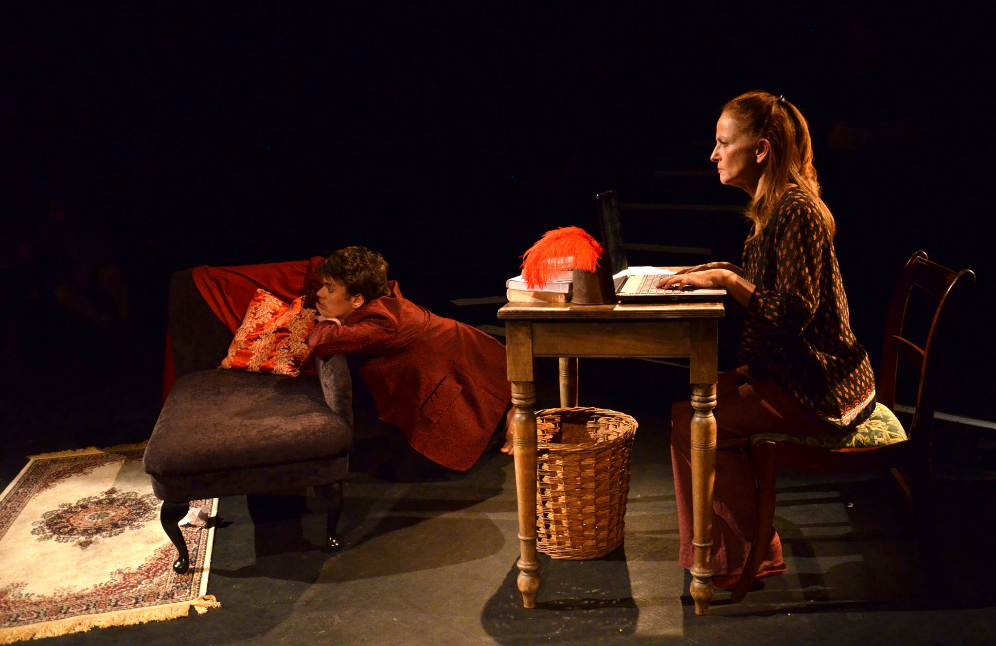 Alumni success: Holloway alumni have been heavily involved in putting the new play together.