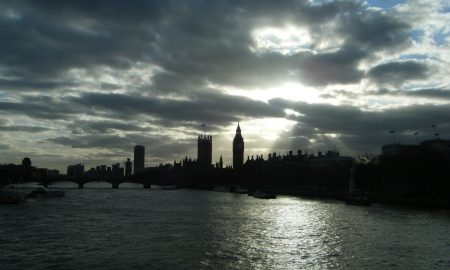 London from Hungerford Bridge