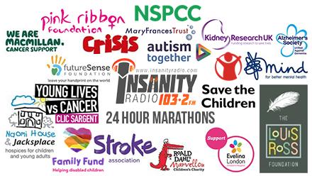 marathon charities