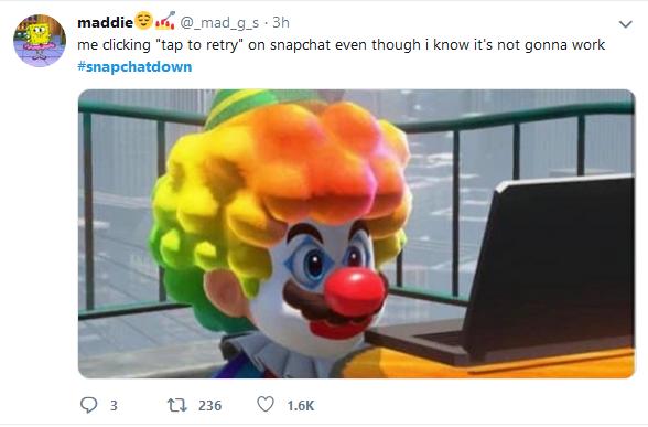 Snapchat Funny Tweet