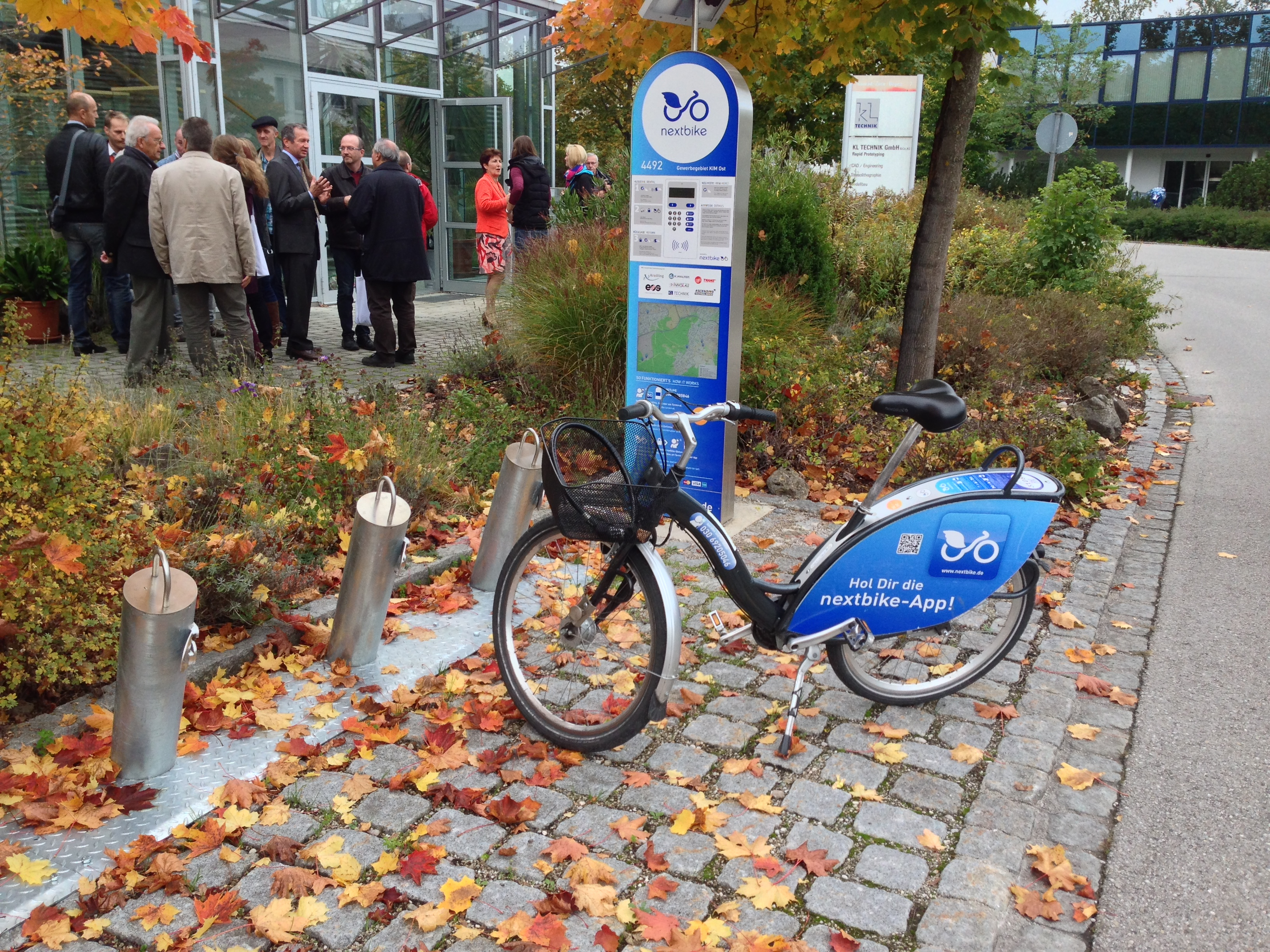 Krailling Innovation Park Nextbike station