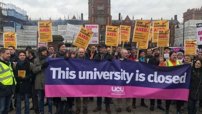Academics Strike
